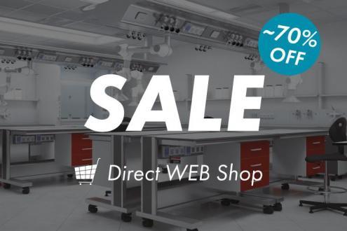 オンラインショップでショールーム展示品や旧モデル製品を特別価格でご提供いたします
